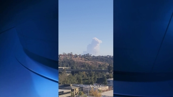 Smoke From Mexico Fire Seen in San Diego