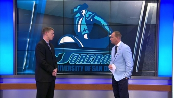 USD Basketball Coach Sam Scholl Talking Toreros, NCAA Tourney & Gatorade Showers