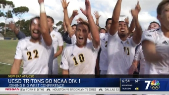 UCSD Goes NCAA Division 1 and Joins Big West Conference