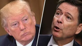 Leak Crackdown Talk Yields Rare Comey, Trump Agreement