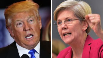 Trump Lashes Out at Warren, Calls Her an 'Overrated Voice'