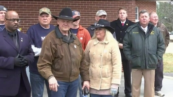 A Confident Roy Moore Rides to Vote on Horseback