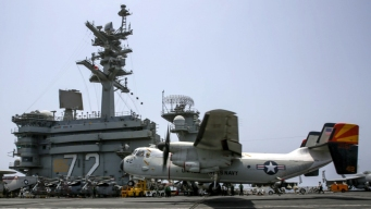 US Navy Launches Search for Missing Sailor in Arabian Sea<br /><br />