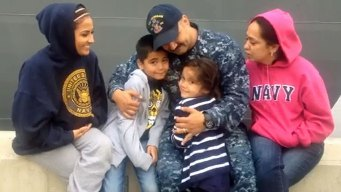 Families Gather for Ships' Deployment