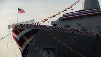 Navy's New Ship to Homeport in San Diego