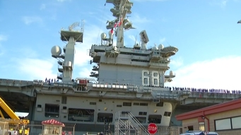 Enemy Drones Pose Threat to USS Nimitz