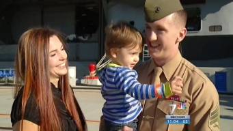 Holiday Homecoming: USS Nimitz Returns from Deployment