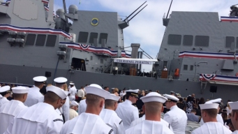 'Character and Virtue': USS Rafael Peralta Commissioned