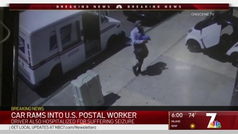 US Postal Worker Pinned When Retrieving Mail