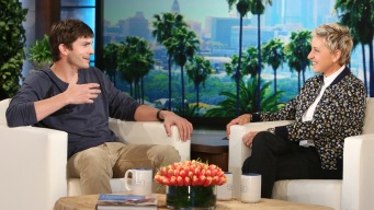 'Ellen': Kutcher Talks Wedding to Kunis