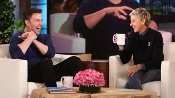 'Ellen': Affleck and Garner Are 'Good Friends'