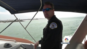 Harbor Officer Rescues Canoers in Oceanside