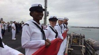 USS Carl Vinson Strike Group Returns Home