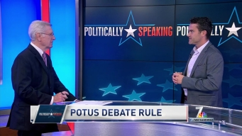 Politically Speaking: POTUS Debate Rule