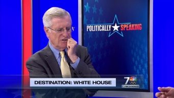 Politically Speaking: Destination White House