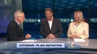 Politically Speaking: Citizens Plan Initiative