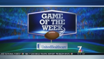 GOTW - NBC 7's Megan Tevrizian At Orange High School Part 1