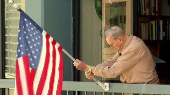 WWII Veteran Told to Take Down American Flag