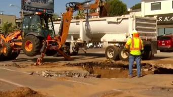 Water Main Ruptures Strain Local Businesses