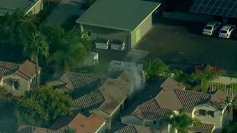 Woman Burned in El Cajon House Fire