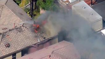 Woman Rescued from El Cajon House Fire