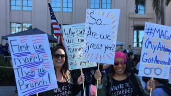 Locals Unite for 3rd Annual Women's March in San Diego