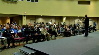 Tough Questions at Top Cop's First Town Hall