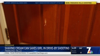 Shaving Cream Can May Have Saved Woman When Bullet Flies into Home