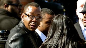 Bobby Brown Leaves Whitney's Funeral Early