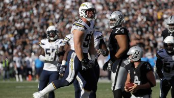 Bosa Named NFL's Best Defensive Rookie