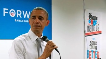 Obama Sheds Tears Thanking Campaign Workers