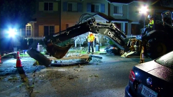 Water Main Break Causes Sinkhole in Chula Vista Neighborhood