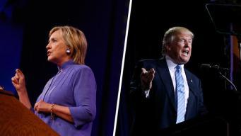 Clinton, Trump Jockey on Fighting Terrorism