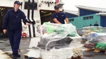 Tons of Drugs Seized in Pacific Ocean: US Coast Guard