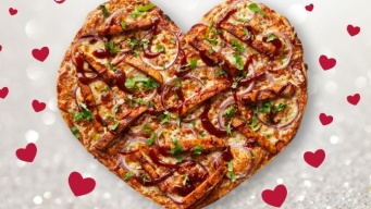 Heart-Shaped Pizzas Make a Mother's Day Return