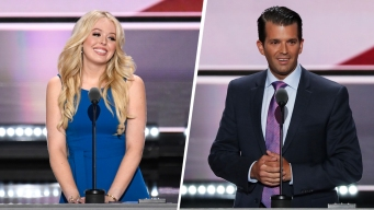 2 Trump Children Get Time in Convention Spotlight