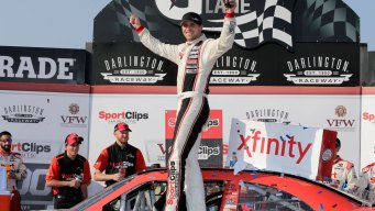 Xfinity Series: Denny Hamlin Holds on for Darlington Win