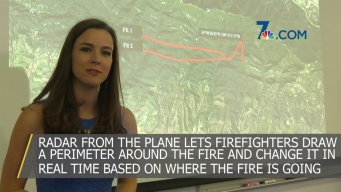 Firefighters Use New Technology to Fight Brush Fires