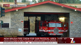 New Brush Fire Coverage for San Pasqual Area