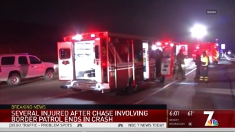 4 Hospitalized in Crash Off SR-125