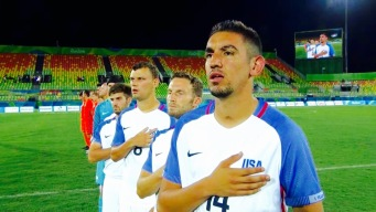 David Garza Talks Representing the USA on and Off the Pitch