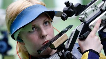 US Shooter Ginny Thrasher Wins 1st Gold of Rio Olympics