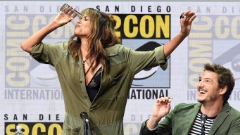 Halle Berry Downs Half Pint of Whiskey at Comic-Con Panel