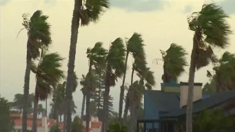 Santa Ana Winds Blow Through Southern California