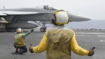 Airstrikes Launched Against ISIS From USS Harry Truman