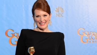 Julianne Moore On Big Win