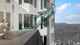 Woman Sues DTLA Skyspace Slide Over Broken Ankle