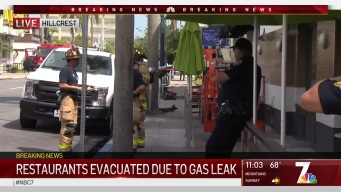Hillcrest Businesses, 4th Avenue Evacuated Due to Gas Leak