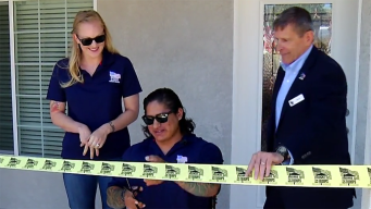 Marine Who Lost Legs in Afghanistan Receives New Home