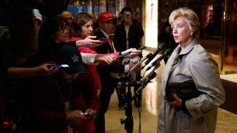 Trump Picks WWE's Linda McMahon for SBA Job